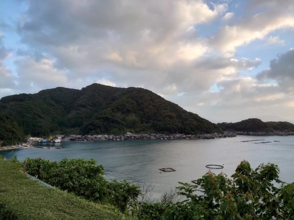伊根の舟屋 道の駅からの眺望
