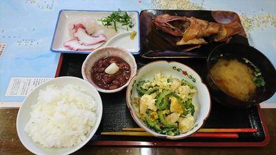 民宿 三日目の夕食