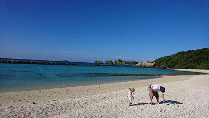 慶社良間諸島 阿嘉島