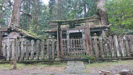 結城秀康 石廟