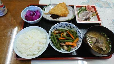 民宿 二日目の夕食