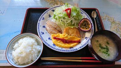 民宿 四日目の朝食