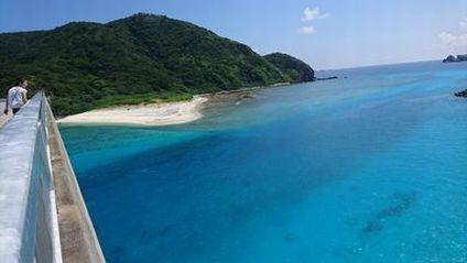 慶良間諸島 阿嘉大橋
