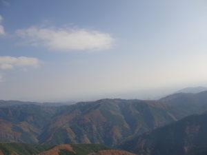 伊吹山からの景色