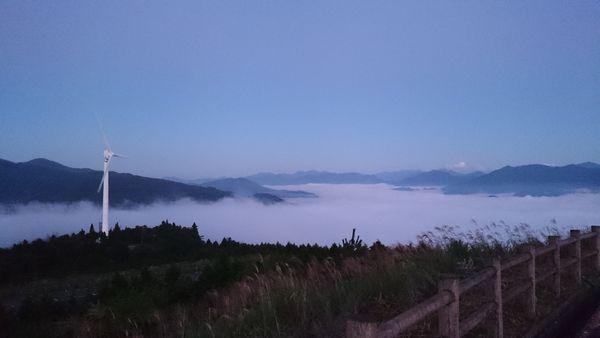 ゆとりすと大豊 すすきと雲海