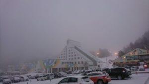 鷲ヶ岳スキー場駐車場
