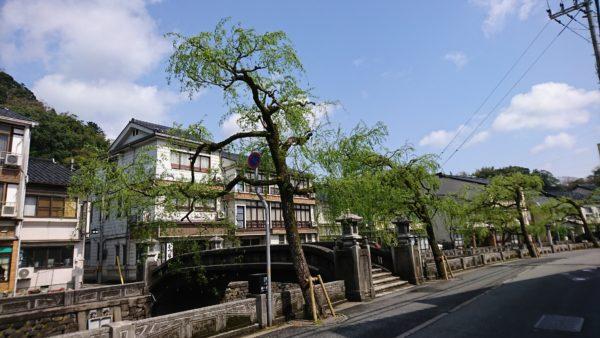 城崎温泉 レトロな風景