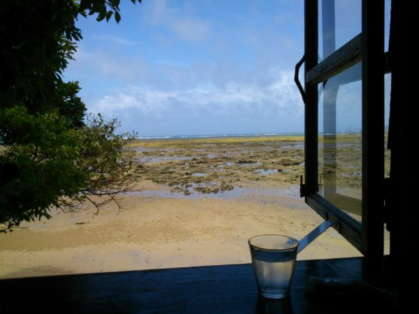 浜辺の茶屋 店内からの景色