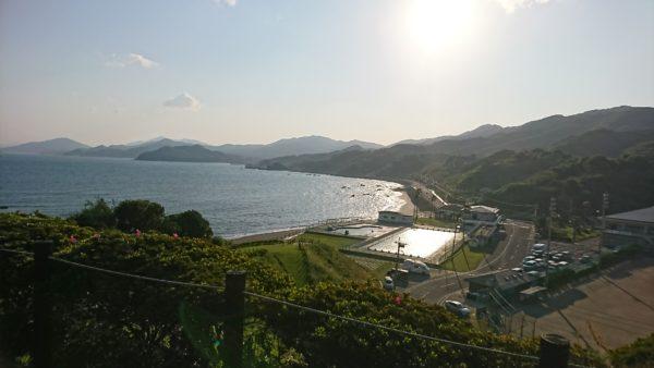 野母崎 北側展望台からの風景