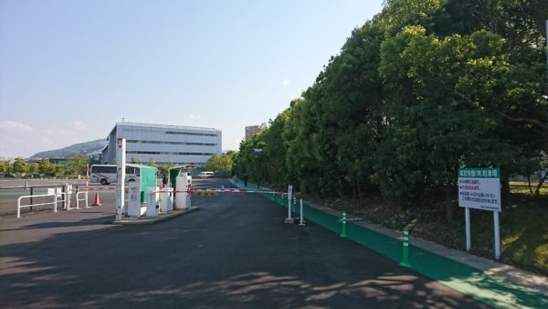 常盤県営駐車場(南側)