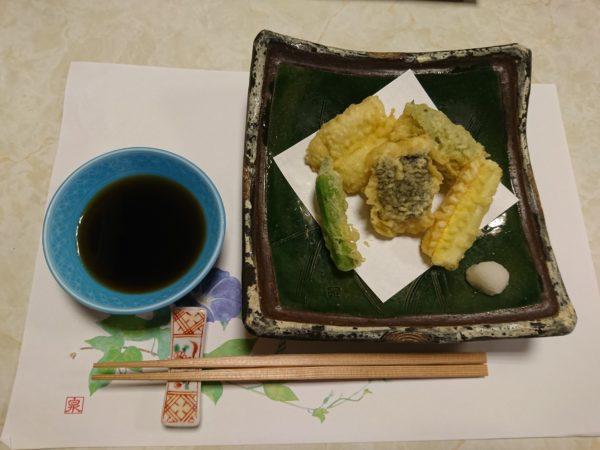 鱧づくし 天ぷら