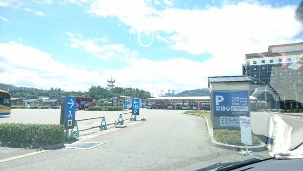 輪島マリンタウン駐車場