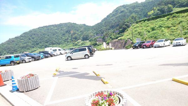 道の駅千枚田 駐車場