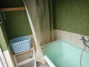 荘内半島オートキャンプ場 シャワールーム浴槽