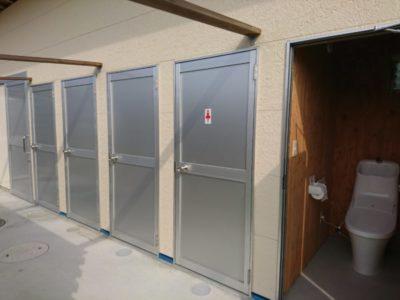 荘内半島オートキャンプ場 トイレ