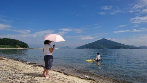 荘内半島オートキャンプ場浦島 海水浴