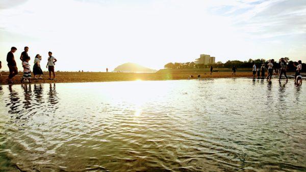 父母ケ浜の絶景フォト