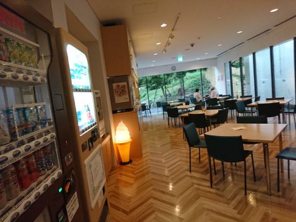 道の駅スプリングスひよし 温泉内レストラン