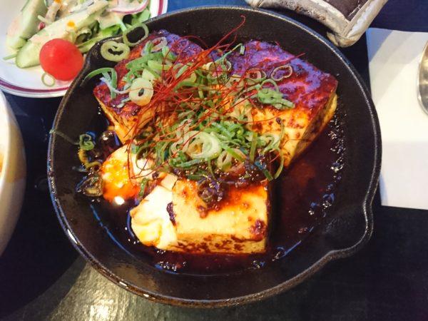 道の駅スプリングスひよし レストラン 鉄鍋麻婆豆腐