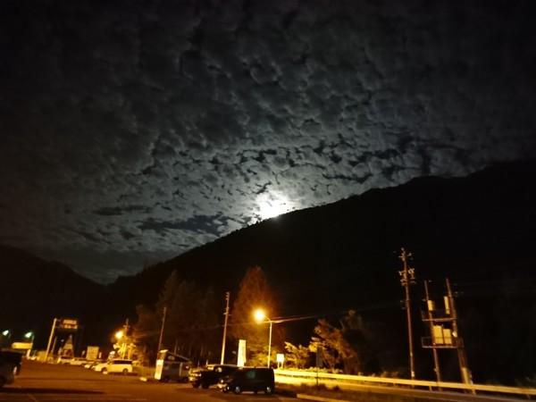道の駅 星のふる里ふじはし 夜空