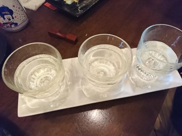 酒処 和ん 日本酒飲み比べ