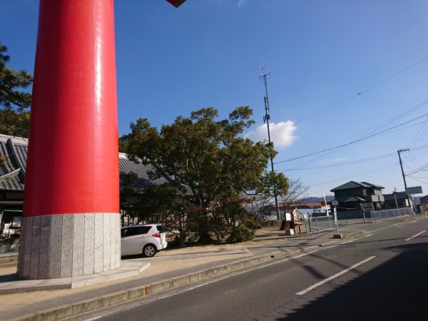 おのころじま神社 駐車場