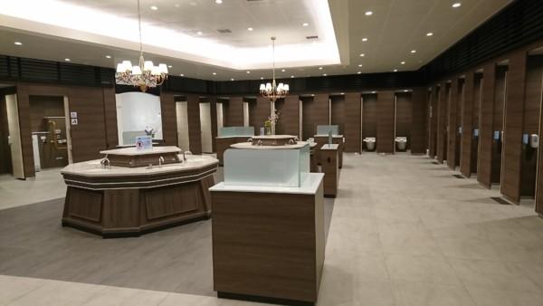 宝塚北サービスエリア トイレ