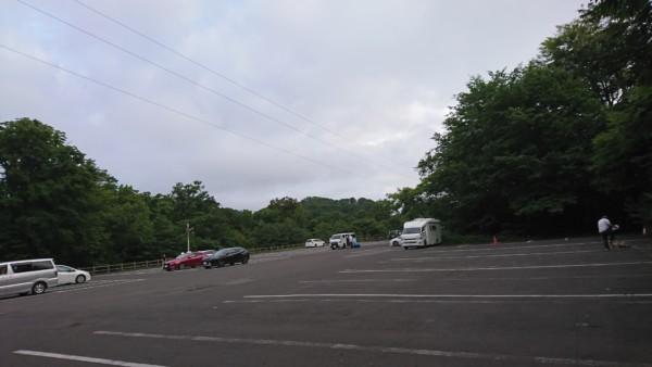 十二湖 駐車場
