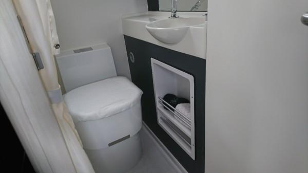 キャンピングカーカセット式トイレ