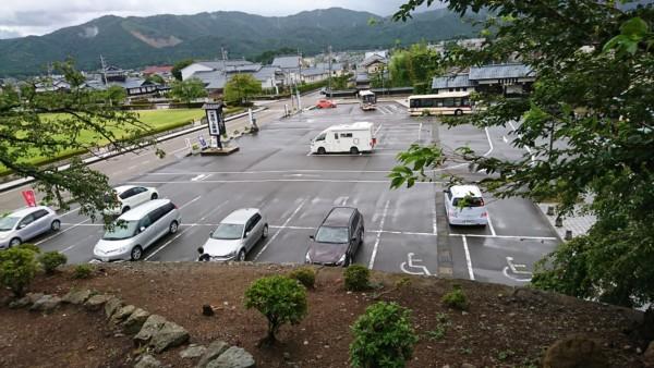 丸岡城 駐車場