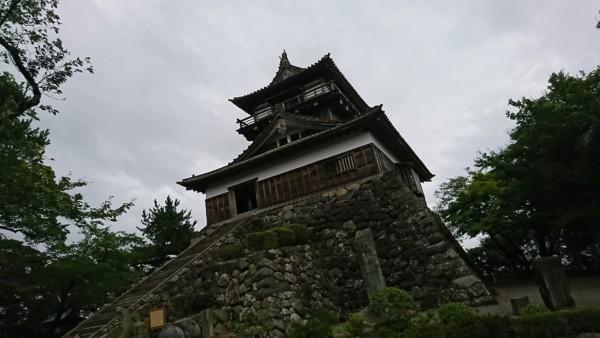 丸岡城 外階段