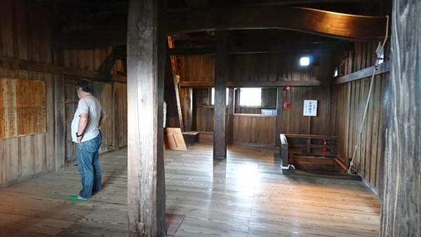 丸岡城 2階部分
