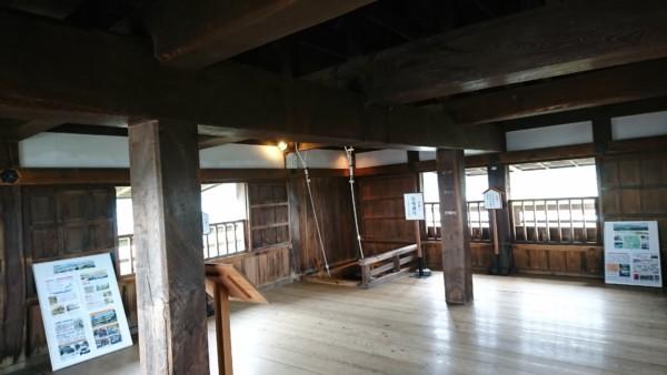 丸岡城 3階部分
