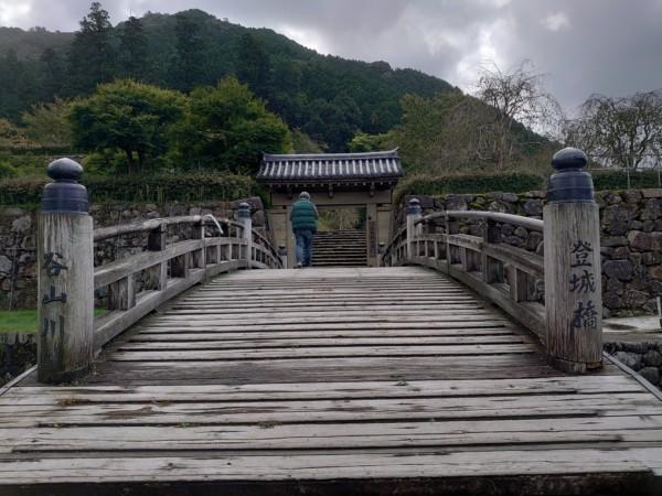 出石城 登城橋
