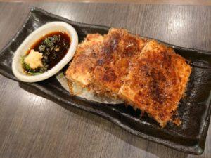 豆腐のおかか焼き