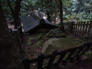 岩戸神社 後方