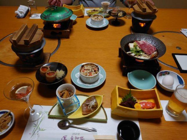 若神楼の夕食