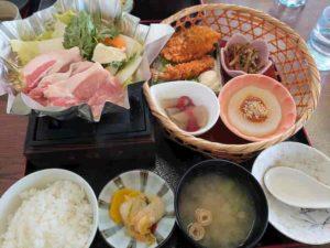 月ケ瀬温泉 梅の郷定食